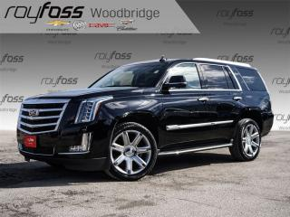 Used 2015 Cadillac Escalade Clean Car Proof. 22 Wheels. Nav. HUD. for sale in Woodbridge, ON