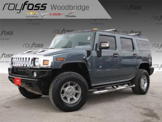 Used 2005 Hummer H2 Clean Carproof, Leather, Sunroof, Bose for sale in Woodbridge, ON