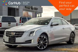 Used 2018 Cadillac ATS Coupe Luxury AWD|Nav|Keyless_Go|BOSE|Sunroof|18