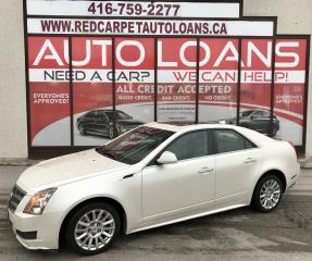 Used 2011 Cadillac CTS 3.0 CTS 4-ALL CREDIT ACCEPTED for sale in Scarborough, ON