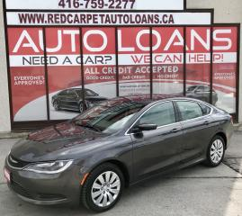 Used 2015 Chrysler 200 LX-ALL CREDIT ACCEPTED for sale in Scarborough, ON