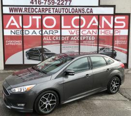 Used 2016 Ford Focus SE-ALL CREDIT ACCCEPTED for sale in Scarborough, ON
