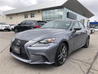 Used 2014 Lexus IS 250 F Sport Premium Package for sale in Brampton, ON