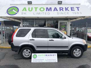 Used 2002 Honda CR-V EX 4WD 1 OWNER, NO ACCIDENTS! WARRANTY for sale in Langley, BC