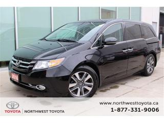 Used 2016 Honda Odyssey Touring $290.87 BIWEEKLY | $0 DOWN for sale in Brampton, ON