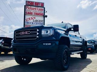 Used 2017 GMC Sierra 1500 SLE Z 71 ELEVATION PACKAGE!! 6 INCH LIFT!! 35 INCH MUD TIRES!! PREMIUM UPGRADED RIMS!! for sale in Bolton, ON
