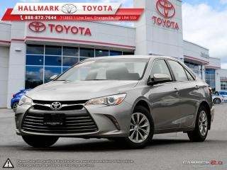 Used 2017 Toyota Camry 4-Door Sedan LE 6A for sale in Mono, ON