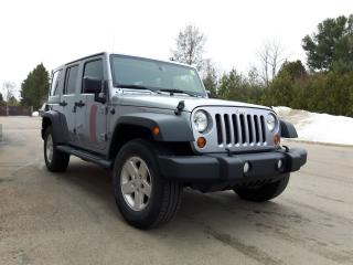 Used 2013 Jeep Wrangler Sport Unlimited 4 door for sale in Ottawa, ON
