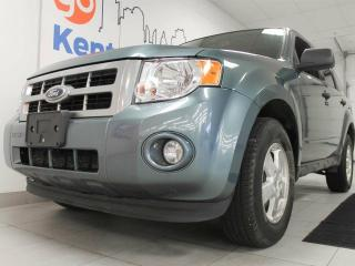 Used 2012 Ford Escape XLT with keyless entry and a power drivers seat but look at that blue! for sale in Edmonton, AB