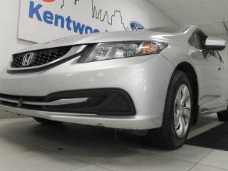 Used 2014 Honda Civic LX with heated seats. It's a honda, it'll run forever for sale in Edmonton, AB
