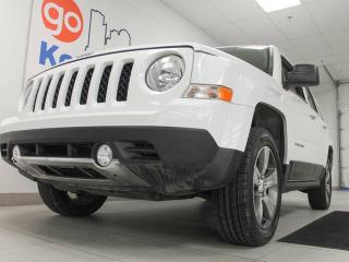 Used 2016 Jeep Patriot SPORT- High altitude 4x4 with a sunroof, heated power leather seats in a jeep jeep for sale in Edmonton, AB