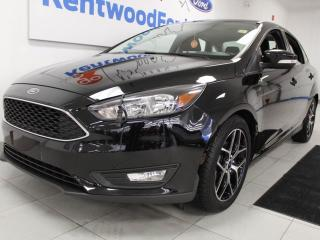 Used 2018 Ford Focus FWD with sunroof, heated seats, heated steering wheel, and backup cam for sale in Edmonton, AB