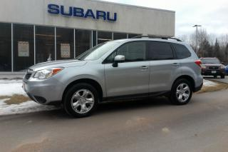 Used 2014 Subaru Forester 2.5i for sale in Minden, ON