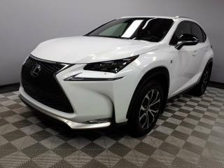 Used 2017 Lexus NX 200t F Sport Series 1 - Local One Owner Trade In | 3M Protection Applied | Leather Heated Seats | Heated Steering Wheel | Navigation | Back Up Camera | Parking Sensors | Power Sunroof | Power Liftgate | Dual Zone Climate Control with AC | Lexus Premium Audio | for sale in Edmonton, AB