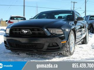 Used 2014 Ford Mustang V6 PREMIUM LEATHER MANUAL MUSCLE GREAT CONDITION for sale in Edmonton, AB