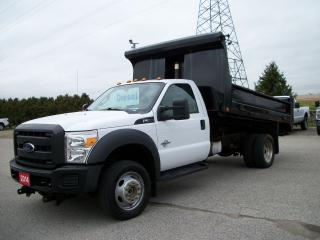 Used 2014 Ford F-550 XLT for sale in Stratford, ON