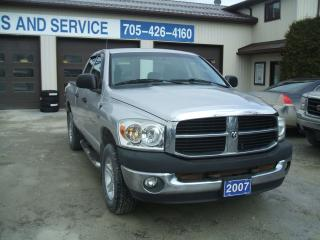 Used 2007 Dodge Ram 1500 SLT, 4x4 Quad Cab for sale in Beaverton, ON