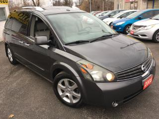 Used 2008 Nissan Quest SE/AUTO/NAVI/BACKUPCAMERA/SUNROOF/FULLY LOADED for sale in Scarborough, ON