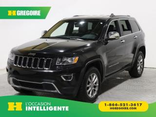 Used 2016 Jeep Grand Cherokee LTD T.OUVRANT CAMÉRA for sale in St-Léonard, QC