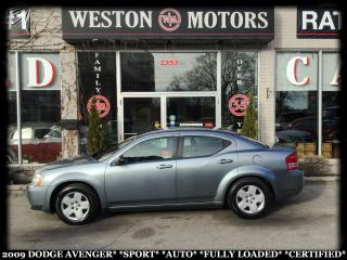 Used 2009 Dodge Avenger SPORT*AUTO*FULLY LOADED*CERTIFIED* for sale in York, ON
