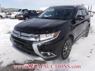 Used 2016 Mitsubishi OUTLANDER GT 4D UTILITY AWD 7 PASS 3.0L for sale in Calgary, AB