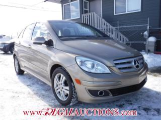 Used 2007 Mercedes-Benz B-Class B200 4D Hatchback for sale in Calgary, AB