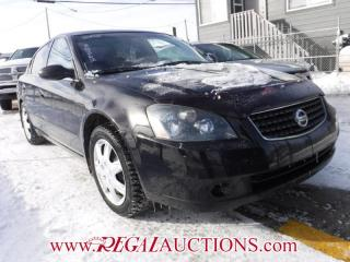 Used 2005 Nissan ALTIMA S 4D SEDAN 3.5 for sale in Calgary, AB