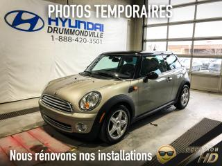 Used 2008 MINI Cooper HARDTOP + CUIR + FOGS + MAGS + CRUISE + for sale in Drummondville, QC