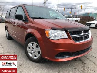 Used 2012 Dodge Grand Caravan SXT**FULL ST & GO SEATING**LOW KM'S!! for sale in Mississauga, ON