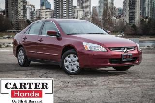 Used 2004 Honda Accord LX-G, local BC vehicle for sale in Vancouver, BC