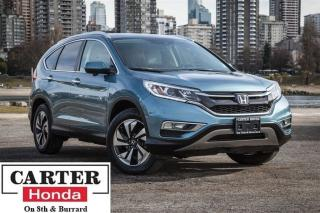 Used 2015 Honda CR-V Touring, one owner, no accidents for sale in Vancouver, BC