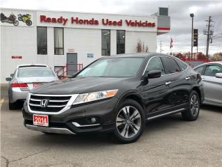 Used 2014 Honda Accord Crosstour EX-L 4WD V6 - Navigation - NEW TIRES & BRAKES for sale in Mississauga, ON