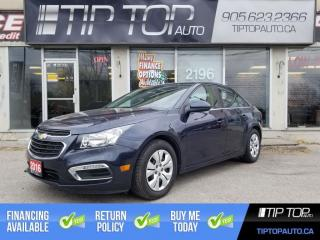 Used 2016 Chevrolet Cruze LT ** Remote Factory Start, Backup Cam, Bluetooth for sale in Bowmanville, ON