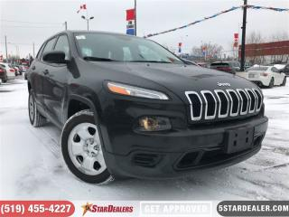 Used 2016 Jeep Cherokee Sport | LOW KMS | BLUETOOTH for sale in London, ON