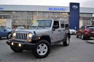 Used 2013 Jeep Wrangler UNLIMITED SPORT for sale in Port Coquitlam, BC