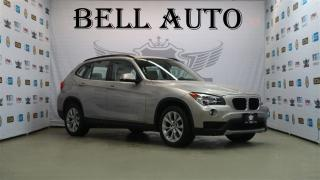Used 2014 BMW X1 xDrive28i PREMIUM PKG LEATHER for sale in North York, ON
