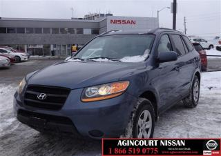 Used 2009 Hyundai Santa Fe GL 2.7L V6 FWD 5sp |AS-IS SUPER SAVER| for sale in Scarborough, ON