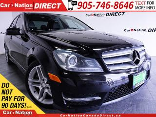 Used 2012 Mercedes-Benz C-Class C300 4MATIC| NAVI| DUAL SUNROOF| LOCAL TRADE| for sale in Burlington, ON