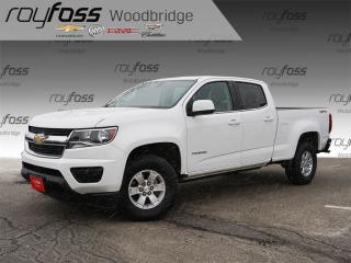 Used 2017 Chevrolet Colorado WT Backup Cam, Bed Liner, 4x4 for sale in Woodbridge, ON