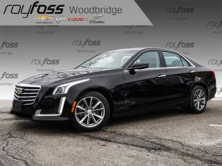 Used 2017 Cadillac CTS 3.6L Luxury. Clean Carproof. Sunroof, Nav, Bose for sale in Woodbridge, ON
