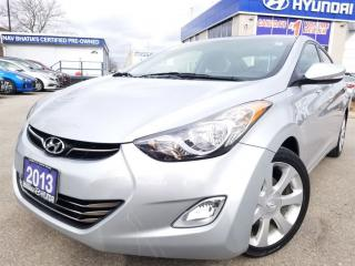 Used 2013 Hyundai Elantra Limited w/Navi-Alloy rims in very nice condition for sale in Mississauga, ON