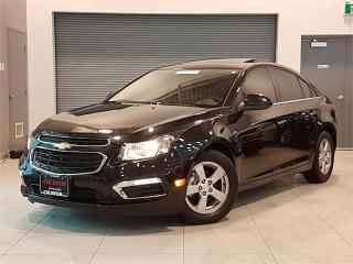 Used 2016 Chevrolet Cruze Limited 2LT-AUTO-LEATHER-SUNROOF-CAMERA-ONLY 20KM for sale in York, ON