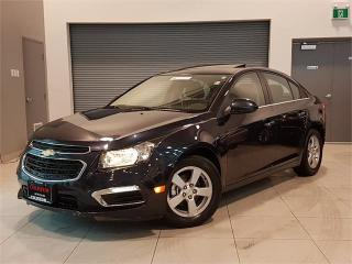 Used 2016 Chevrolet Cruze Limited 2LT-AUTO-LEATHER-SUNROOF-CAMERA-ONLY 46KM for sale in York, ON