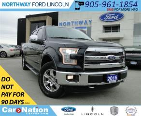 Used 2015 Ford F-150 Lariat | NAV | LEATHER | PANO ROOF | REAR CAM | for sale in Brantford, ON