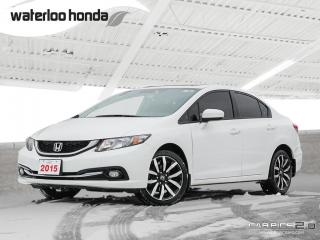 Used 2015 Honda Civic Touring Sold Pending Customer Pick Up...Bluetooth, Back Up Camera, Navigation, and More! for sale in Waterloo, ON