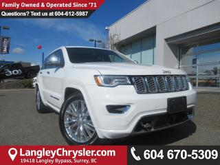 Used 2018 Jeep Grand Cherokee Overland for sale in Surrey, BC