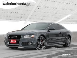 Used 2010 Audi A5 3.2L Sold Pending Customer Pick Up...Bluetooth, Back Up Camera and More! for sale in Waterloo, ON