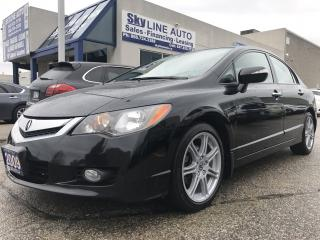 Used 2009 Acura CSX HEATED SEATS|SUNROOF|LEATHER|CERTIFIED for sale in Concord, ON