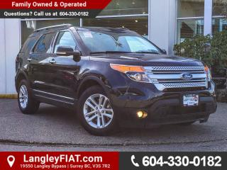 Used 2015 Ford Explorer XLT NO ACCIDENTS, B.C OWNED for sale in Surrey, BC