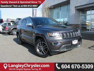 Used 2017 Jeep Grand Cherokee Limited <B>*REMOTE START*5.0 TOUCHSCREEN*LEATHER*<b> for sale in Surrey, BC